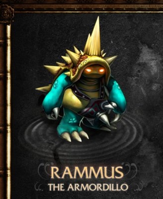朗玛斯·披甲龙龟(Rammus The Armordillo)