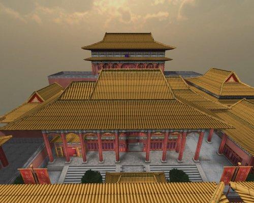 穿越火线新地图中国皇宫