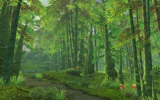 《魔兽世界:熊猫人之谜》新地图名字及场景预览